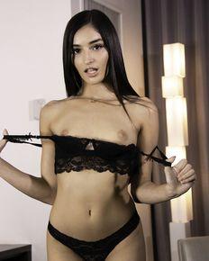Nasty Emily Willis taking it through her Backdoor - anal sex photos