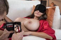 Busty MILF Ava Addams sucks and fucks a hard young cock - porn pics