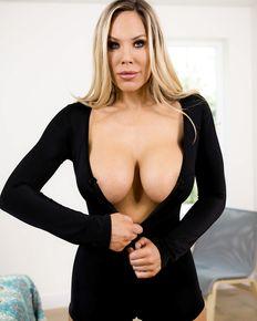 Busty MILF Olivia Austin gets her pussy fucked - porn photos