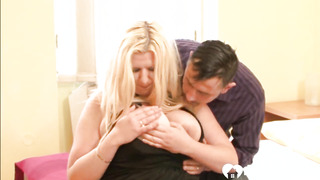 Lush light-haired mommy is excellent at shaft pleasuring