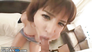 Chinese big-titted housewife luvs to give sensation