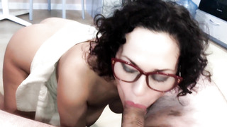 Fuckslut does Sports with Nude Fuckbox! Urinating and Smirking! Munching Breakfast Salad Flavored wi