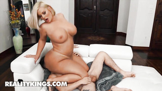Reality Kings - Police Officer Julie Money Destroyes Chris Ride