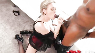 Dee Williams is a smoking red-hot mature with XXL globes who ravages ebony men all the time