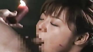 Mosaic: Uncensored Asian Glamour Fetish Hump - Gym Restrain Bondage 17 (Pt four)