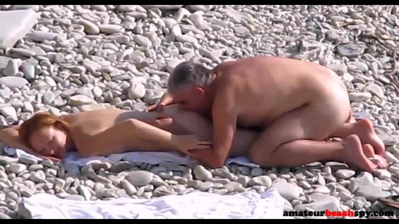 Watch Couple Hot Fuck On Nude Beach Caugh By Hidden Cam