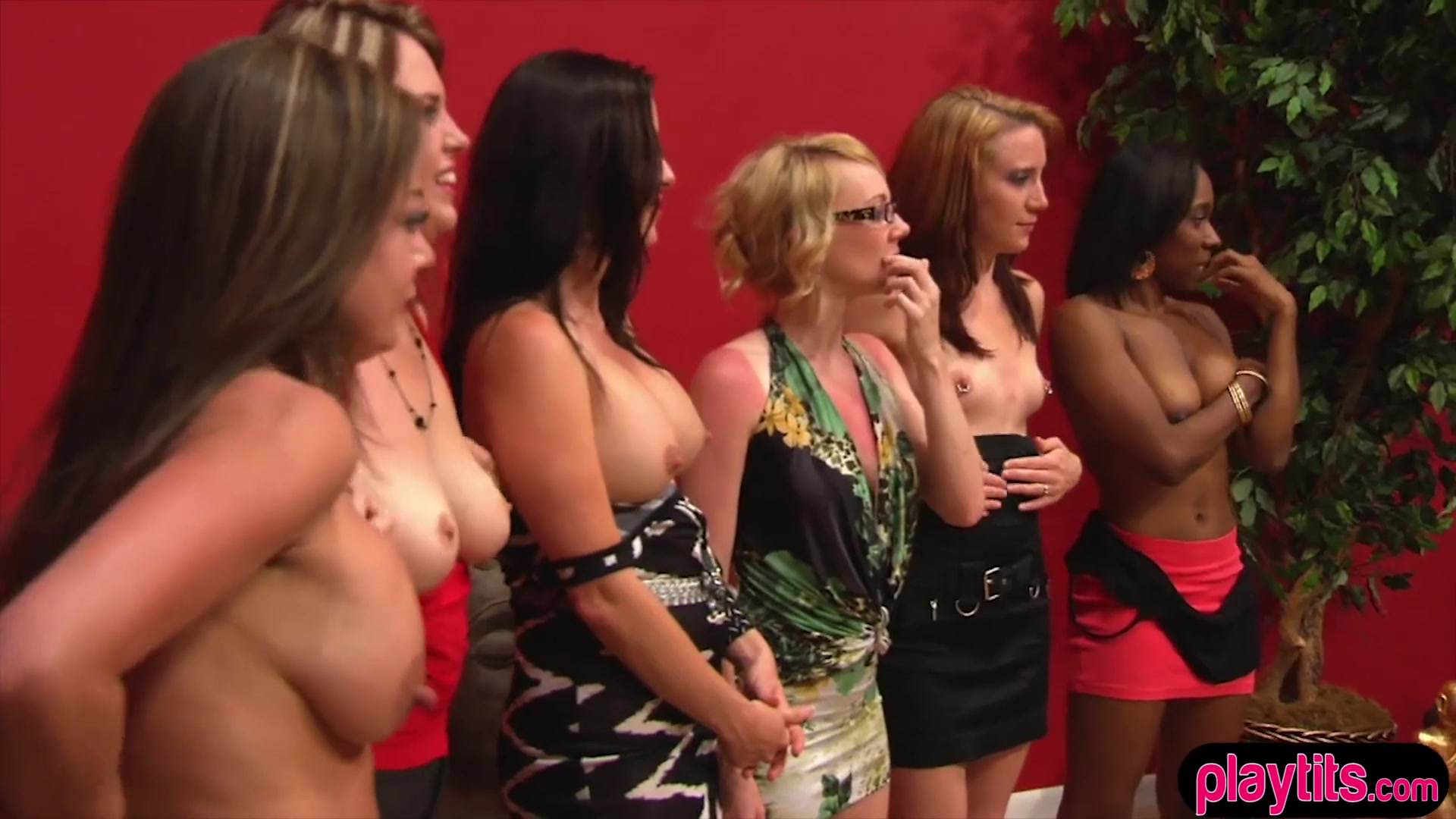 Amateur College Tits Party