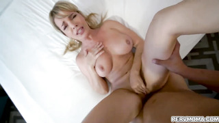 Stepmom Dana Dearmond and stepson having a wild sex