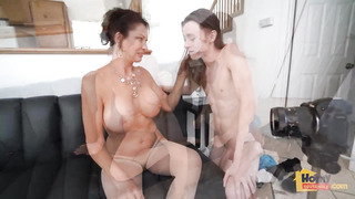 Vanessa Videl is a super-naughty mature dame who is always in the mood to fellate and screw