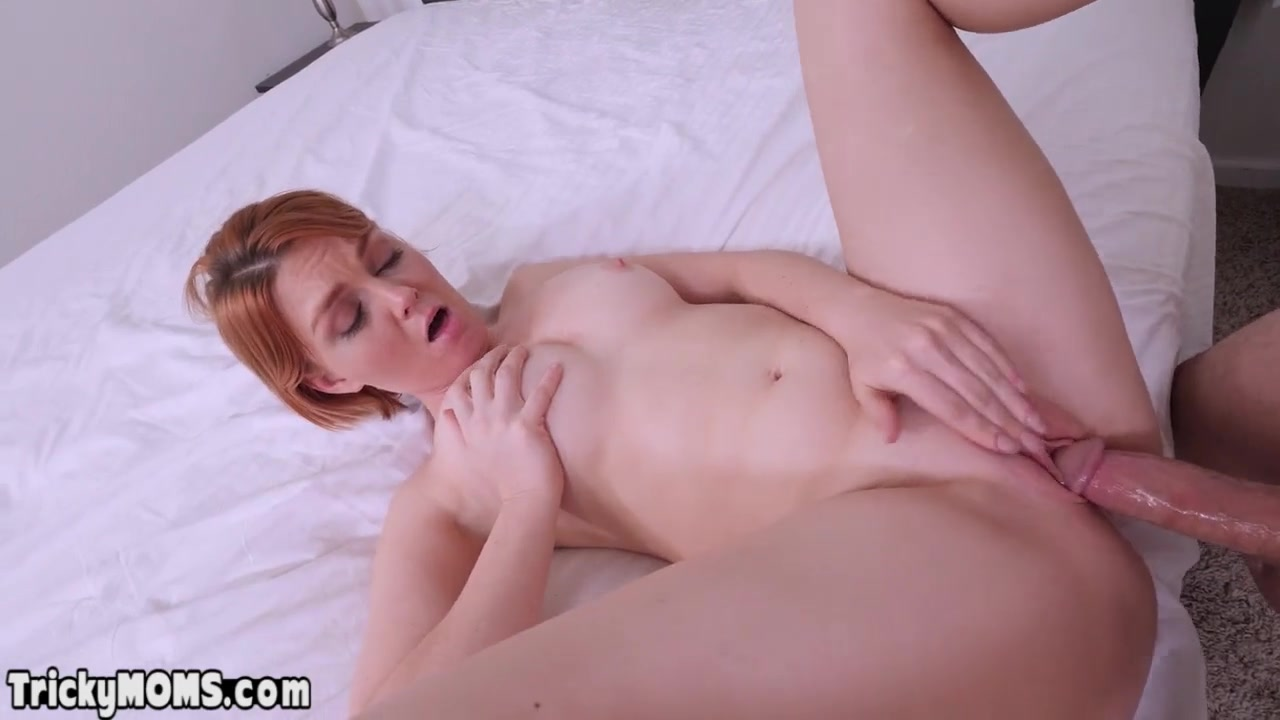 Son Seduces Hot Blonde Stepmom