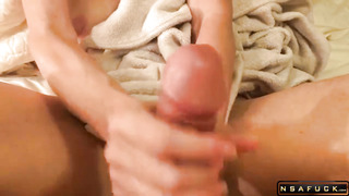 Amateur Wife Puts Her Gifted Hands To Wo